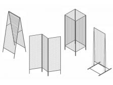 Сетчатые модули для торговли и аксессуары